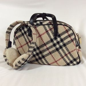 Burberry Bag & Earmuffs